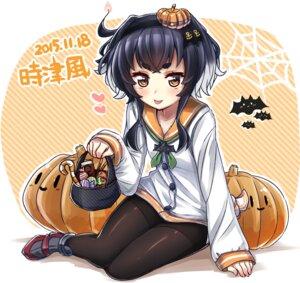 Rating: Safe Score: 26 Tags: halloween kantai_collection pantyhose seifuku tokitsukaze_(kancolle) yufuissei0702 User: Mr_GT