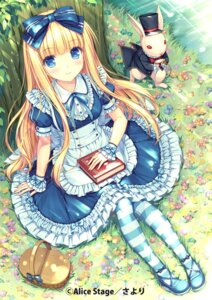 Rating: Safe Score: 117 Tags: alice alice_in_wonderland dress sayori thighhighs User: 椎名深夏