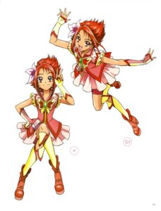 Rating: Questionable Score: 5 Tags: kawamura_toshie natsuki_rin pretty_cure yes!_precure_5 User: drop