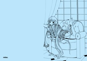Rating: Safe Score: 6 Tags: chii chobits clamp monochrome User: MosquitoJack
