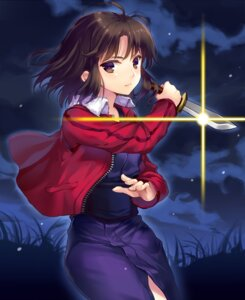 Rating: Safe Score: 29 Tags: kara_no_kyoukai momoko_(momopoco) ryougi_shiki User: fairyren