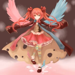 Rating: Safe Score: 22 Tags: charlotte_(puella_magi_madoka_magica) nanairo puella_magi_madoka_magica thighhighs wings User: 椎名深夏