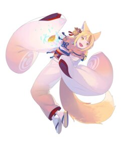 Rating: Questionable Score: 8 Tags: animal_ears enkyo_yuuichirou fire_emblem fire_emblem_heroes fire_emblem_if kimono kitsune nintendo selkie tail User: fly24