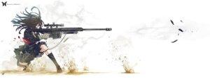 Rating: Safe Score: 57 Tags: gun kozaki_yuusuke seifuku User: Radioactive