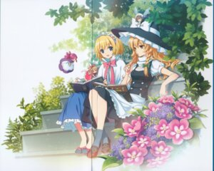 Rating: Safe Score: 25 Tags: alice_margatroid an2a crease fixme gap kirisame_marisa touhou wind_mail User: withul