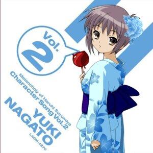 Rating: Safe Score: 8 Tags: disc_cover jpeg_artifacts nagato_yuki suzumiya_haruhi_no_yuuutsu yukata User: LHM-999