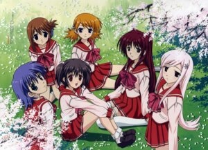 Rating: Safe Score: 11 Tags: komaki_manaka kousaka_tamaki lucy_maria_misora nishio_kouhaku sasamori_karin seifuku thighhighs to_heart_(series) to_heart_2 tonami_yuma yuzuhara_konomi User: Radioactive