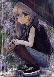 Rating: Safe Score: 27 Tags: girls_und_panzer itsumi_erika karu_(ricardo_2628) pantyhose seifuku sweater umbrella User: Mr_GT
