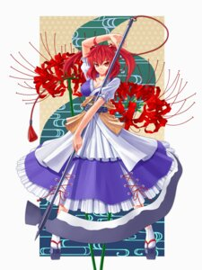 Rating: Safe Score: 17 Tags: cleavage onozuka_komachi seihou touhou weapon User: Mr_GT