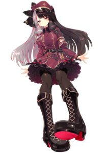 Rating: Safe Score: 16 Tags: heels miruto_netsuki nijisanji pantyhose uniform yorumi_rena User: Mr_GT