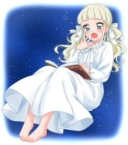 Rating: Safe Score: 20 Tags: aikatsu! dress feet sekina toudou_yurika User: charunetra