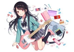 Rating: Safe Score: 27 Tags: guitar seifuku yaruwashi User: yanis