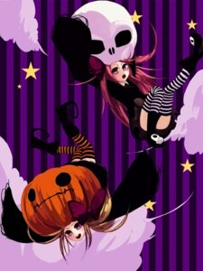 Rating: Safe Score: 4 Tags: halloween memai thighhighs User: charunetra