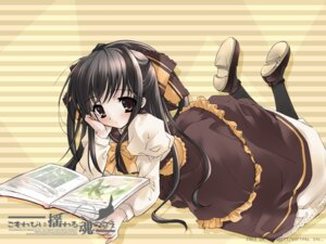 Rating: Safe Score: 7 Tags: dress ito_noizi komorebi_ni_yureru_tama_no_koe unisonshift wallpaper User: noirblack