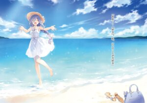 Rating: Safe Score: 51 Tags: date_a_live dress landscape summer_dress takamiya_mio tsunako wet User: kiyoe