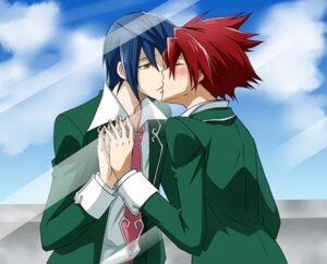 Rating: Safe Score: 4 Tags: male seifuku shindou_sugata star_driver tsunashi_takuto tsunoda_wei yaoi User: charunetra