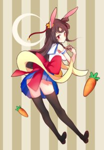 Rating: Questionable Score: 24 Tags: animal_ears ass boqboq bunny_ears seifuku thighhighs User: blooregardo