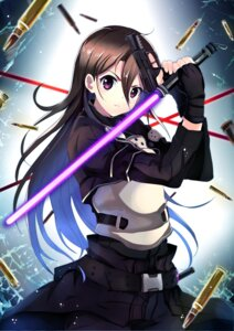 Rating: Safe Score: 30 Tags: gun gun_gale_online kagura_kurosaki kirito male sword sword_art_online User: charunetra