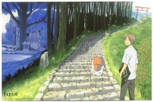 Rating: Safe Score: 9 Tags: hishigaki natsume_reiko natsume_takashi natsume_yuujinchou neko nyanko screening seifuku tagme User: Komori_kiri