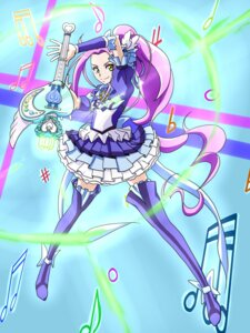 Rating: Safe Score: 7 Tags: florence_temporary pretty_cure siren_(suite_precure) suite_pretty_cure thighhighs User: Radioactive