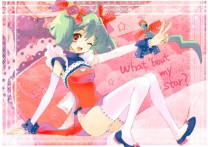Rating: Questionable Score: 34 Tags: ai-kun chinadress dress fujitsubo-machine ito_noizi macross macross_frontier pantsu ranka_lee thighhighs waitress User: Share