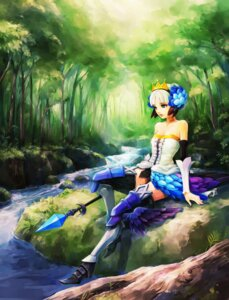 Rating: Safe Score: 22 Tags: dress gwendolyn hironox odin_sphere User: charunetra