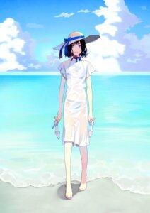 Rating: Safe Score: 27 Tags: bikini dress heels see_through summer_dress swimsuits tagme wet_clothes User: saemonnokami