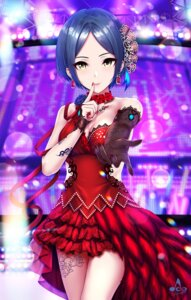 Rating: Safe Score: 44 Tags: cleavage dress hayami_kanade infinote tattoo the_idolm@ster the_idolm@ster_cinderella_girls User: Mr_GT