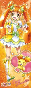 Rating: Safe Score: 5 Tags: dokidoki!_precure pretty_cure rance_(precure) stick_poster takahashi_akira yotsuba_alice User: Anonymous