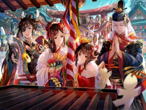 Rating: Safe Score: 31 Tags: animal_ears eyepatch fuzichoko japanese_clothes kimono onmyouji pointy_ears User: Mr_GT