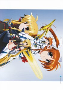 Rating: Safe Score: 7 Tags: fate_testarossa mahou_shoujo_lyrical_nanoha mahou_shoujo_lyrical_nanoha_strikers takamachi_nanoha User: daemonaf2