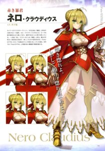 Rating: Questionable Score: 40 Tags: armor cleavage dress expression fate/extella fate/extra fate/stay_night heels pantsu saber_extra see_through type-moon wada_rco User: drop