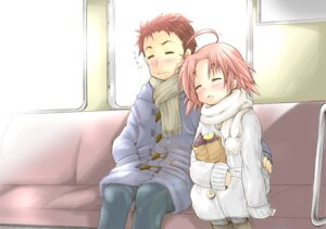 Rating: Safe Score: 14 Tags: kogami_akira lucky_star pantyhose shiraishi_minoru ubizo User: charunetra