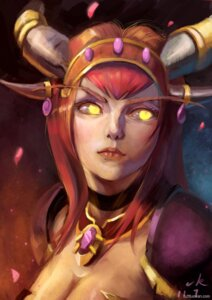 Rating: Safe Score: 9 Tags: alexstrasza_the_life_binder horns tagme_artist_translation world_of_warcraft 吴振丹 User: eridani