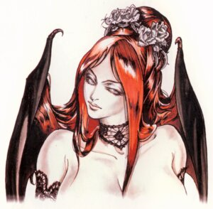 Rating: Questionable Score: 12 Tags: castlevania castlevania:_symphony_of_the_night cleavage devil kojima_ayami konami succubus_(castlevania) wings User: keri-sama