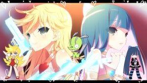 Rating: Safe Score: 52 Tags: chuck gun panty panty_&_stocking_with_garterbelt show_(rinne) stocking sword User: fairyren