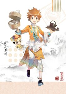 Rating: Safe Score: 10 Tags: asian_clothes ekita_gen katekyo_hitman_reborn! male reborn sawada_tsunayoshi User: charunetra