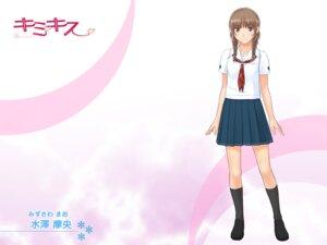 Rating: Safe Score: 14 Tags: kimikiss mizusawa_mao seifuku takayama_kisai wallpaper User: a32b236c