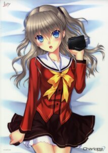 Rating: Safe Score: 27 Tags: charlotte key na-ga seifuku tomori_nao User: fireattack