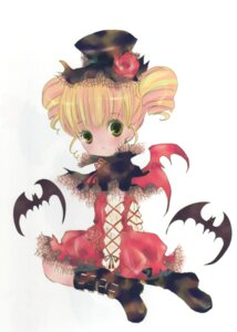 Rating: Safe Score: 8 Tags: hinamori_ami lolita_fashion peach-pit shugo_chara wings User: petopeto