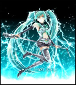 Rating: Safe Score: 18 Tags: hatsune_miku iroha_(shiki) thighhighs vocaloid User: echidna_vita