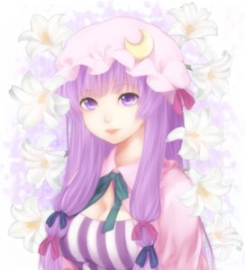 Rating: Safe Score: 20 Tags: cleavage etou patchouli_knowledge touhou User: Nekotsúh
