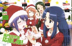 Rating: Safe Score: 20 Tags: asahina_mikuru asakura_ryouko christmas dress megane nagata_yoshihiro nagato_yuki nagato_yuki-chan_no_shoushitsu tsuruya User: drop