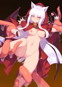 Rating: Explicit Score: 28 Tags: animal_ears bondage ce-_-3 kureha_(sound_voltex) naked_cape nipples pussy sound_voltex tentacles uncensored User: BattlequeenYume