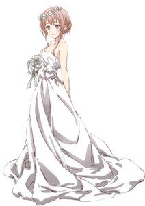 Rating: Safe Score: 32 Tags: dress nakamura_kou wedding_dress User: saemonnokami