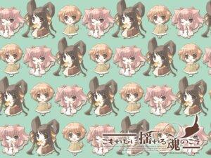 Rating: Safe Score: 4 Tags: animal_ears bunny_ears chibi inumimi ito_noizi komorebi_ni_yureru_tama_no_koe kouenji_ayana sui tachibana_koharu wallpaper User: yumichi-sama