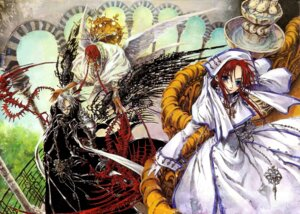 Rating: Safe Score: 5 Tags: abel_nightroad esther_blanchett thores_shibamoto trinity_blood User: Radioactive