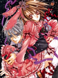 Rating: Safe Score: 11 Tags: cross_yuuki dress hino_matsuri kiryuu_zero vampire_knight User: Radioactive