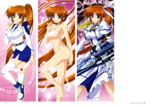 Rating: Questionable Score: 33 Tags: higa_yukari jpeg_artifacts mahou_senki_lyrical_nanoha_force mahou_shoujo_lyrical_nanoha naked takamachi_nanoha thighhighs User: CryFleuret