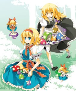 Rating: Safe Score: 13 Tags: alice_margatroid kirisame_marisa reina_(black_spider) shanghai touhou User: fairyren